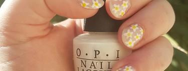 23 manicuras llenas de flores para presumir de uñas esta primavera