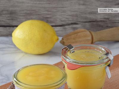 Cómo hacer lemon curd bajo en grasas. Receta ideal para regalar