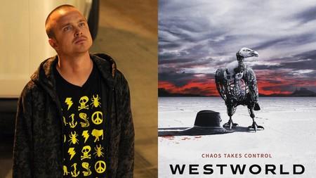 ¡Sí, ciencia! 'Westworld' incorpora a Aaron Paul en su tercera temporada