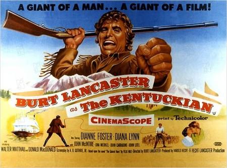 Western: 'El hombre de Kentucky' de Burt Lancaster