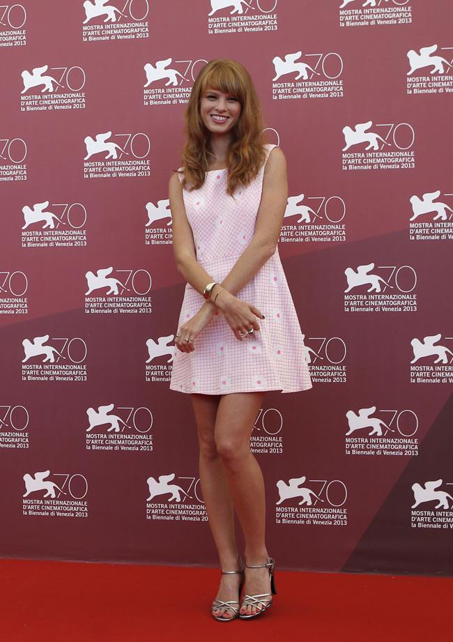 Foto de Scarlett Johansson llegó al Festival de Venecia (8/9)