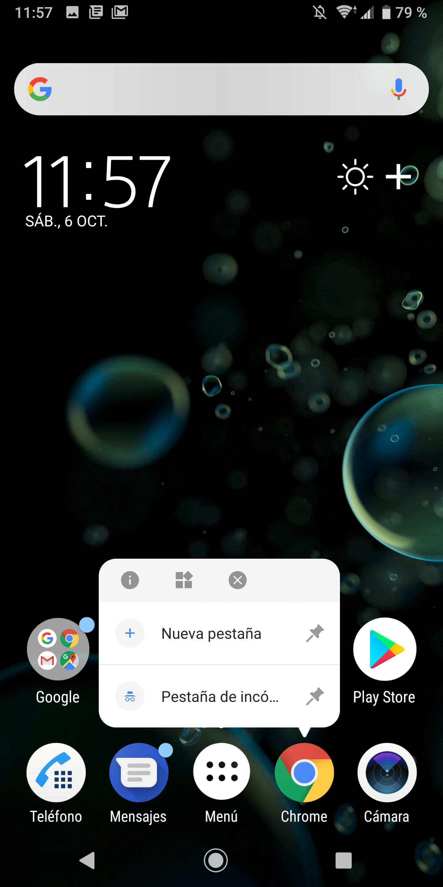 Foto de Xperia XZ3 software (7/8)