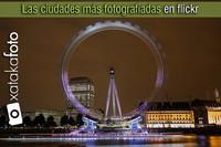 Las ciudades más fotografiadas en flickr