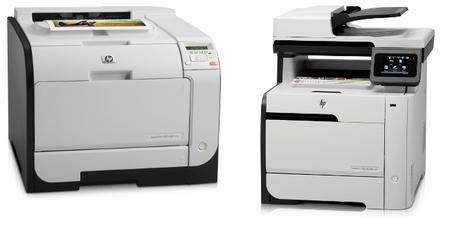 Nueva gama de impresoras HP LaserJet Pro 300 y 400