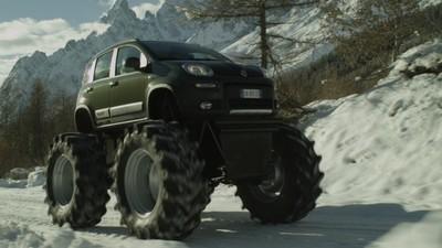El Fiat Panda Monster Truck será el protagonista de un anuncio