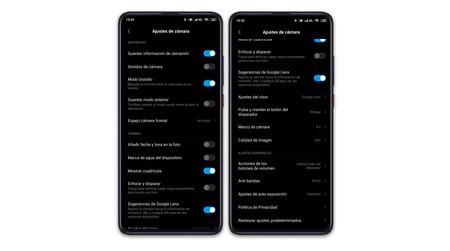 Xiaomi Mi 9t Pro Ajustes Camara