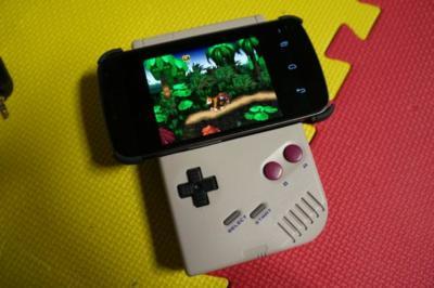 La imagen de la semana: Una Game Boy convertida en un gamepad para Android