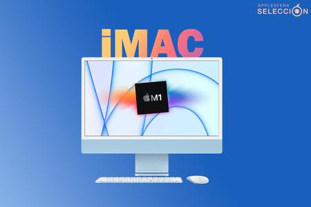 El iMac (2021) con chip M1 de ocho núcleos y 512 GB SSD marca nuevo mínimo en Amazon: ahorra 140 euros en su nuevo todo en uno