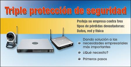 Triple protección de seguridad para empresas de Linksys