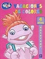 Vacaciones de colores, libro para colorear de los Lunnis