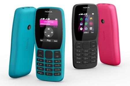 Nuevos Nokia 2720 Flip 4G, 800 Tough y 110: el catálogo KaiOS se refuerza con nuevos modelos no tan inteligentes
