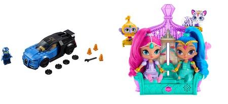 4 ofertas en juguetes Frozen, Lego, Barriguitas y Shimmer and Shine en Amazon para todas las edades