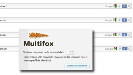 Multifox: ingresa a un sitio web con varias cuentas diferentes al mismo tiempo