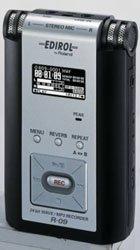Edirol lanza una nueva grabadora en tarjeta SD
