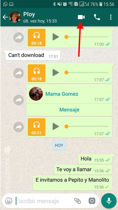 Video Whatsapp 1