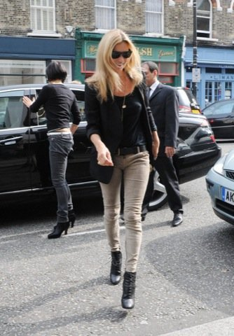 Cazadora famosa, Kate Moss