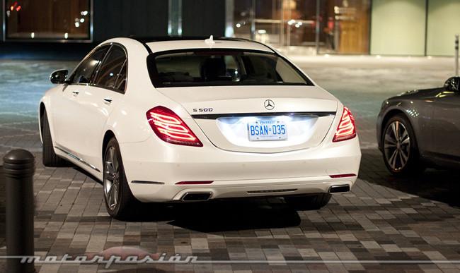 Mercedes-Benz Clase S 2013, presentación y prueba en Toronto