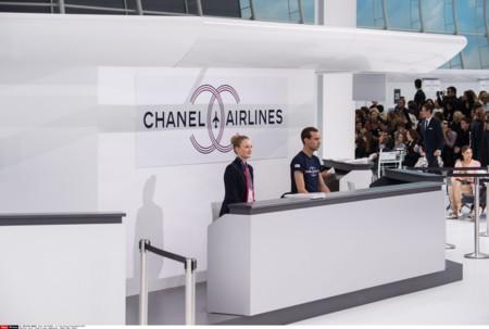 Chanel Aeropuerto Desfile Primavera Verano 2016 8
