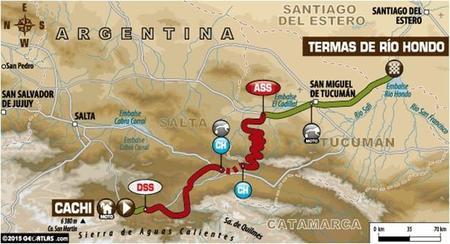 Recorrido Etapa11 Dakar2015 2