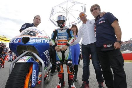 MotoGP Malasia 2012: Maverick Viñales rompe su contrato con el Blusens Avintia