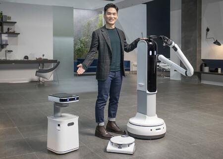 Samsung Bot Care y Bot Handy: estos robots para el hogar quieren ser nuestro asistente personal y encargarse de las tareas domésticas