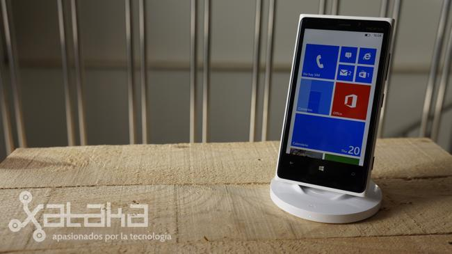 Lumia carga inalámbrica
