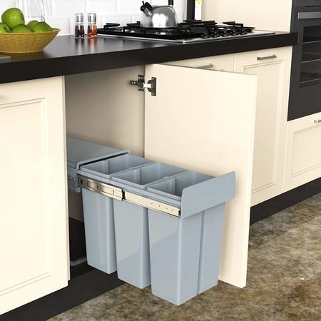 Cubos de basura extraíbles