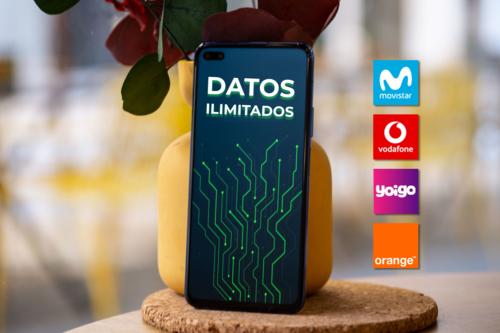 Movistar, Vodafone, Orange y Yoigo ya cuentan con datos móviles ilimitados: letra pequeña y comparativa