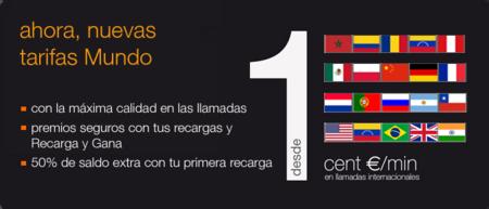 Orange amplia los países con llamadas a un céntimo por minuto con la tarjeta SIM Mundo