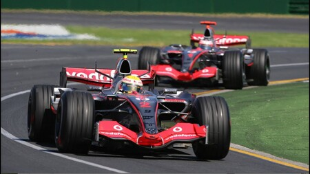 Hamilton Australia F1 2007