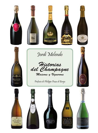 """Jordi Melendo publica nuevo libro: """"Historias del Champagne, Maisons y Vignerons"""""""