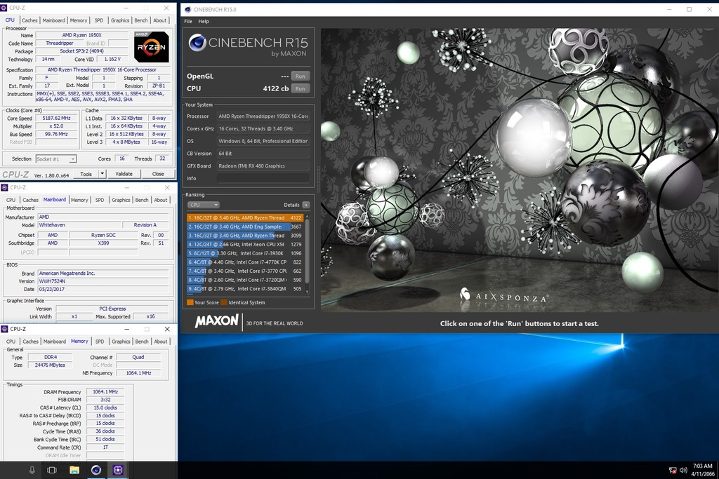 Amd Ryzen Threadripper Overclocking Screenshot 7 29 17