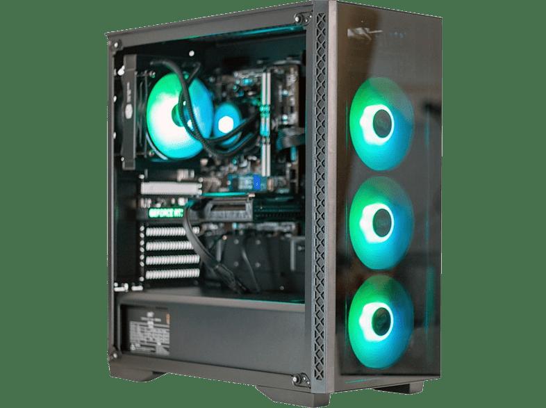 PC Clon B450, AMD Ryzen™ 5 3600, 16 GB RAM, 250 GB SSD + 1 TB HDD, RTX3060, W10