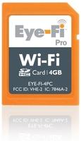 Eye-Fi pro, 4 GB y conexiones AD-HOC