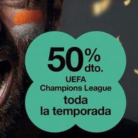 El fútbol sigue en promoción: es el turno de la Champions con Orange, pero no de Liga