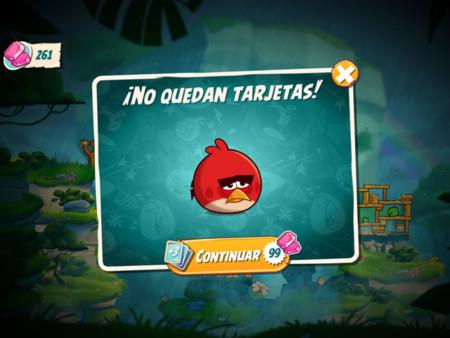 Angry Birds 2 Tarjetas