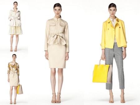 Carolina Herrera en amarillo