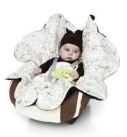 Wallaboo Wrapper Leaf: bonita manta para el bebé en forma de flor