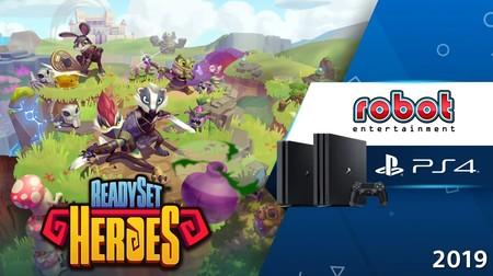 ReadySet Heroes es el nuevo dungeon crawler para PS4 de Robot Entertainment, los creadores de Orcs Must Die!