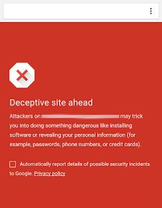 Chrome para Android activa la navegación segura para protegernos contra el phishing
