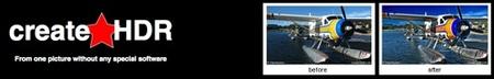 CreateHDR, para realizar HDR online a nuestras imágenes