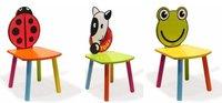 Originales sillas infantiles con forma de animal