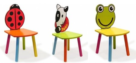 Originales sillas infantiles con forma de animal - Silla de mesa para bebe ...