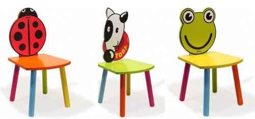 Originales sillas infantiles con forma de animal for Sillas para ninos de madera