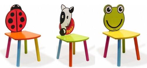 Originales sillas infantiles con forma de animal for Sillas para bebes de madera