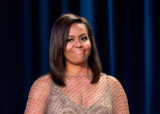 Michelle Obama brilla con un espectacular Givenchy