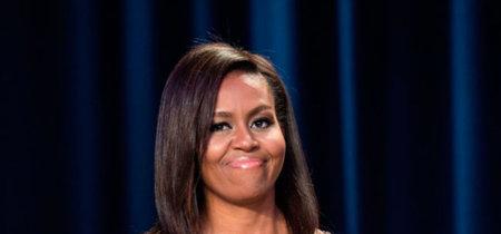 Michelle Obama brilla con un espectacular Givenchy