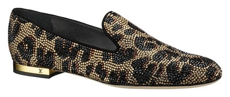 slippers lv leopardo