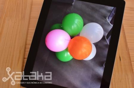 Análisis nuevo iPad 2 antalla