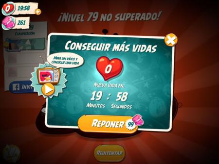 Angry Birds 2 Vidas